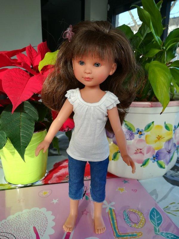 CELIA, POUPEE ASI (ESPAGNE) ♥ 30 cm ♥ 1/2