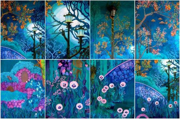 Peintures murales de Yana Dhyana