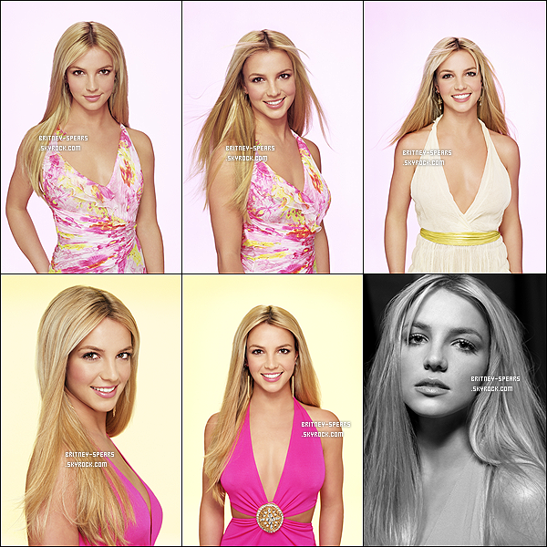 Britney Spears posait pour James White en 2004, les clichés du photoshoot sont sublimes.