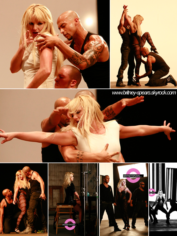 """. Clips . Des superbes photos de Britney Spears sur le tournage du clip """" 3 """" ! . Elle laisse sur son twitter, ces messages : Je tiens à remercier mes fans pour avoir fait de """"3"""" la chanson n °1 du Billboard Hot 100. J'ai la chance d'avoir les meilleurs fans du monde. . Je suis vraiment heureuse que vous l'aimiez car je fais tout cela pour vous.  J'ai hâte que vous puissiez voir le clip ! -Britney ."""