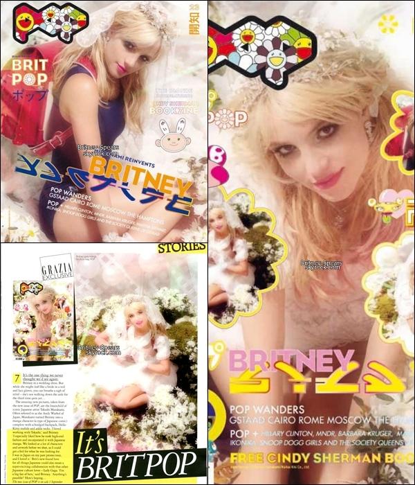 Britney a fait la couverture du magasine japonais POP . T'en penses quoi des photos ? TOP/FLOP ?