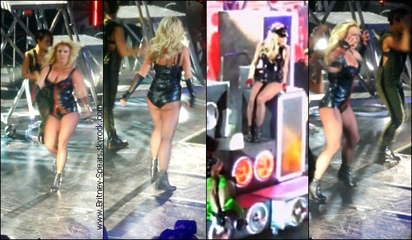 25/03/11 : Britney était à Las Vegas pour y filmer un mini spectacle au Rain Nightclub du Palms Casino Resort. 23/03/11 : Britney a été aperçu avec ses enfants, il fesaint du shopping à calabasas (Californie ) .    «  Britney  récolte des fonds pour le Japon ! »     Britney donnera un mini concert à San Francisco le dimanche 27 mars prochain au Bill Grahan Civic Auditorium devant 7 000 personnes. Un spectacle qui sera diffusé à l'occasion du Good Morning America sur ABC le 29 mars prochain.Alors que les places sont gratuites et que le concert a été complet en une minute seulement, Britney  a décidé de mettre aux enchères deux places VIP afin de récolter des fonds pour le Japon suite au tsunami du 11 mars dernier. L'argent récolté sera envoyé à l'Armée du Salut afin d'aider à la reconstruction du pays.La sortie de son album, Femme Fatale, a été aussi reportée au Japon suite à ces événements. Le disque ne sortira pas le 28 mars mais le 6 avril prochain dans ce pays.