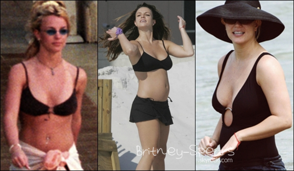 Quel maillot de Britney préfère  tu ?  celui qui la mets le plus en valeur ? Ton avis m'intéresse !