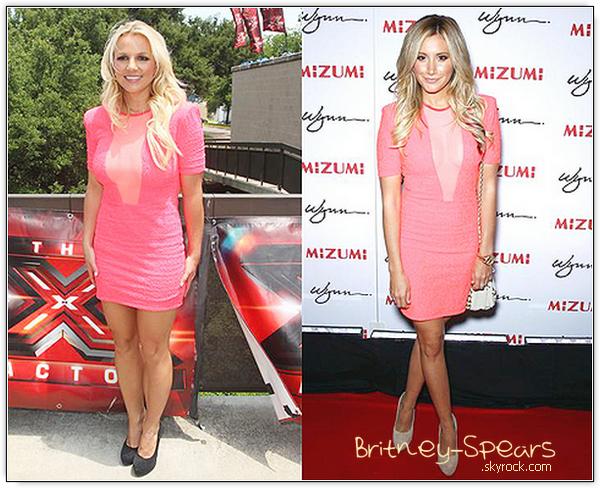 Qui entre Britney et Ashley Tisdale porte le mieux la robe du créateur Brian Lichtenberg  ?