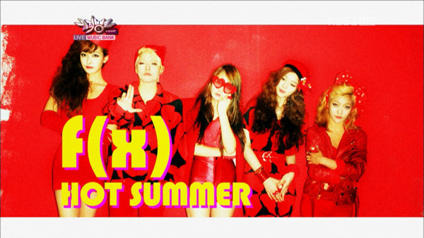 f(x) - Hot Summer - KBS Music Bank [17.06.2011]