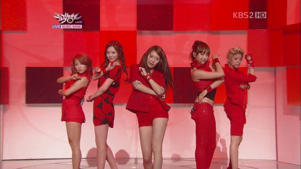 f(x) - Hot Summer - KBS Music Bank [17.06.2011]