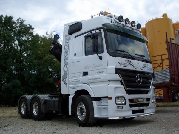 un actros tout simple