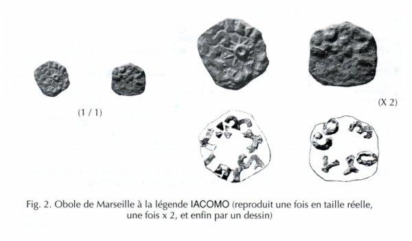 DENIER MEROVINGIEN de Marseille