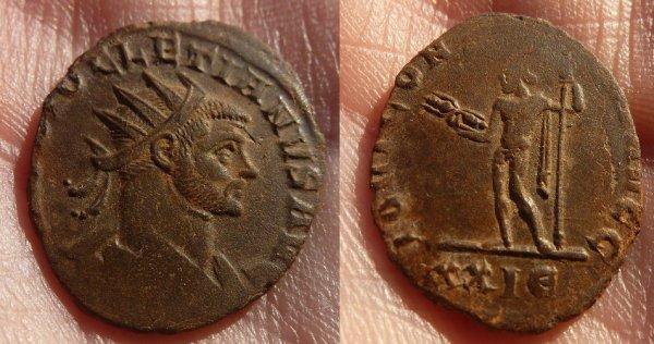 Aurelianus de Diocletien 286-287 atelier de Rome