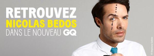 Nicolas Bedos pour LaLibre.be - NICOLAS POUR GQ - NICOLAS DANS LE GROOM SERVICE - VUS SUR TWITTER