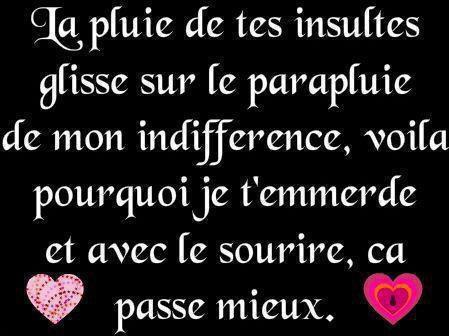pour toutes les insultes !!!!