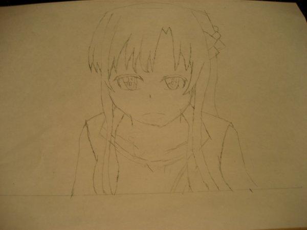 Un dessin d'Asuna ^^