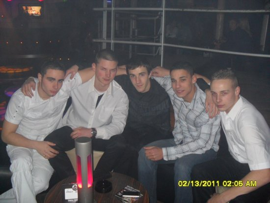 soire au b-club pourl anif de mika