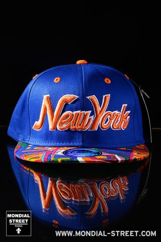 SNAPBACK NEW YORK sur WWW.MONDIAL-STREET.COM