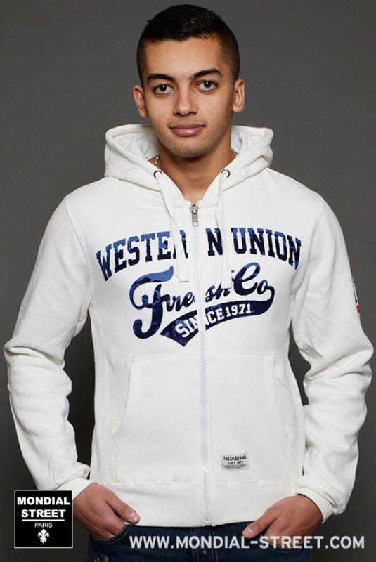 Veste a capuche Fresh-brand sur www.Mondial-Street.com