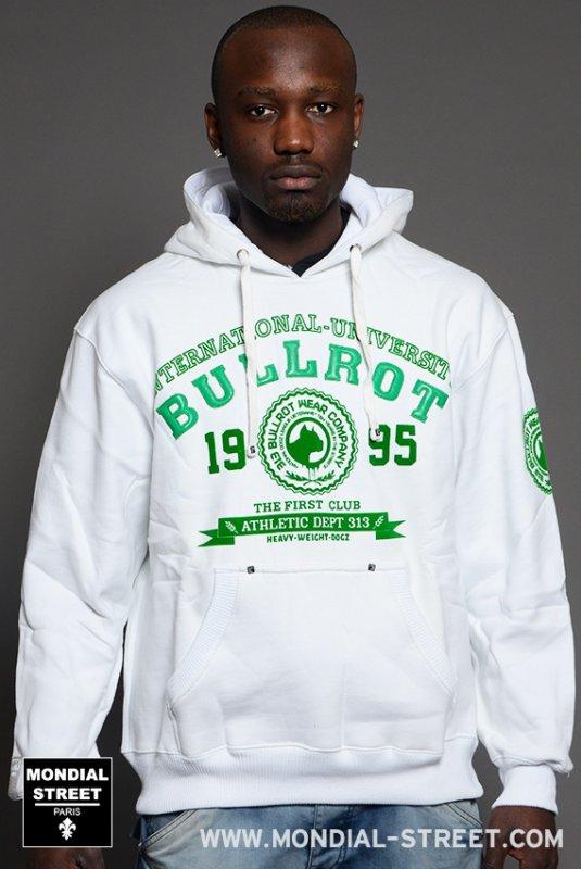 Sweat a capuche Bullrot wear sur www.Mondial-Street.com