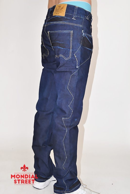 Jeans denim brut by Nova brand dispo sur www.Mondial-Street.com