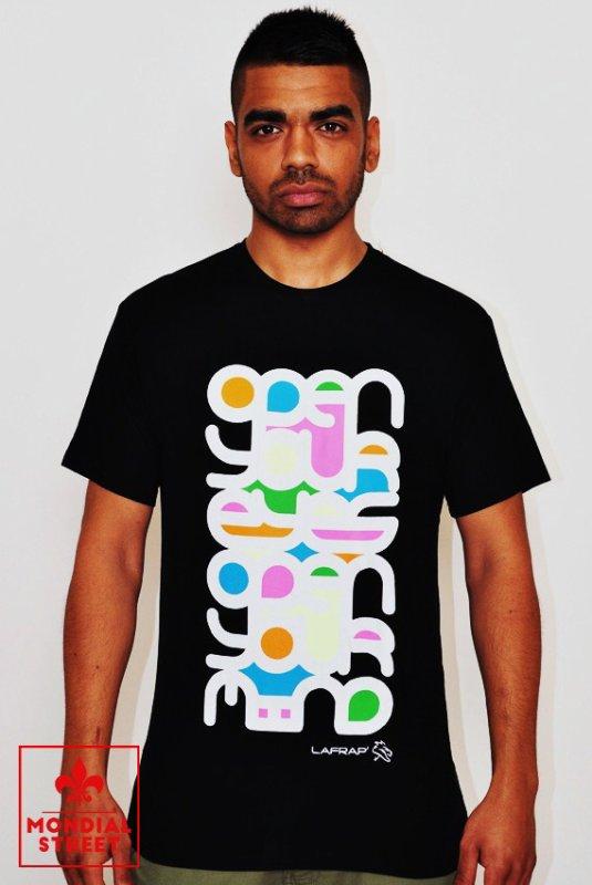 T-shirt Lafrap' by Karim Benzema disponible sur www.Mondial-Street.com