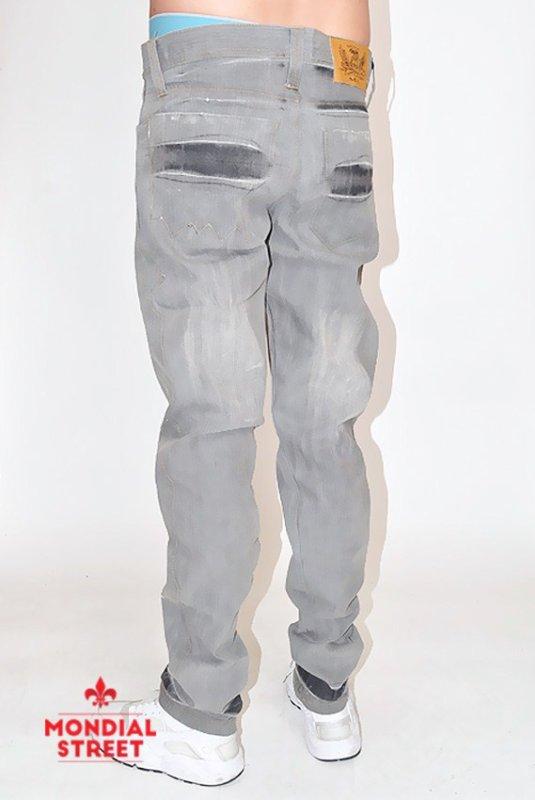 Jeans gris by Nova brand sur www.mondial-street.com