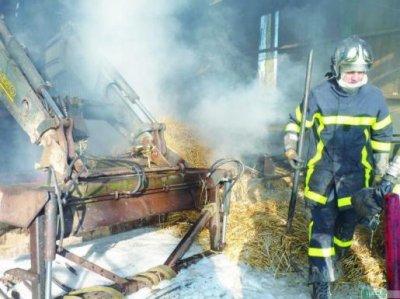 deuxième intervention pour feu dans mon village