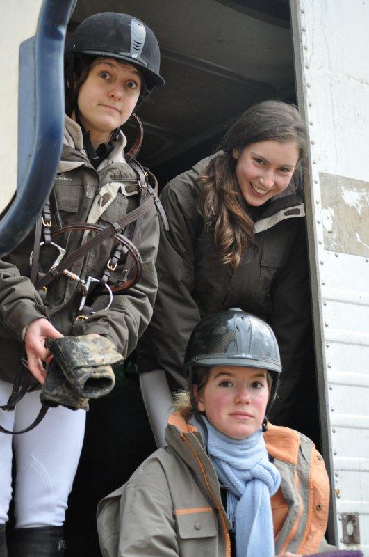 Christelle, Laurine & Clem