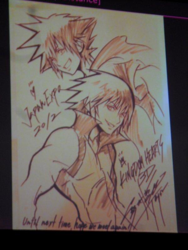 Artwork de Tetsuya Nomura pour la Japan Expo 2012