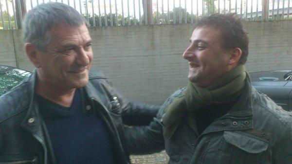 Avec mon ami JM Bigard