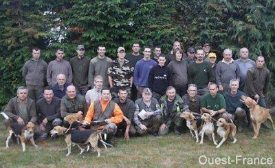 Battue au renard avec l'asso des jeunes chasseurs