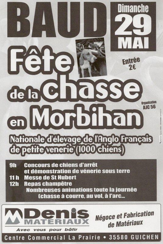 Fête de Jeunes Chasseurs Du Morbihan le 29 Mai