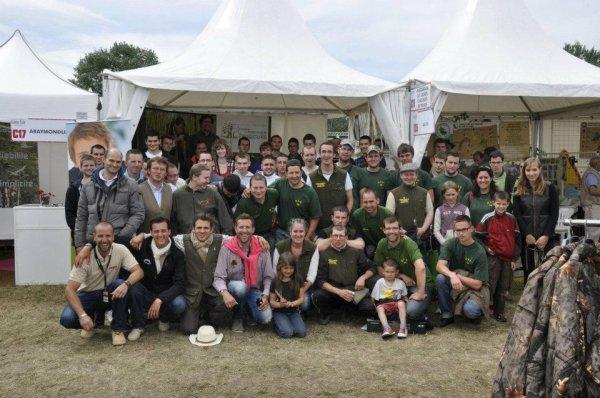 Les Jeunes Chasseurs du Morbihan à CHAMBORD :)))