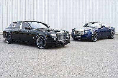 Rolls-Royse Phantom et Rolls-Roys Phantom Coupé