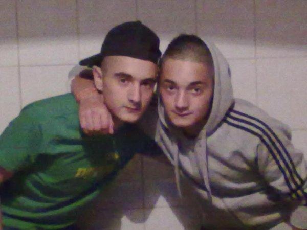 Egidio et Francesco ( mes deux fratellos <3 ) 2011