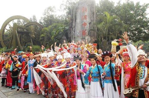Visiting Shenzhen Splendid China Folk Village