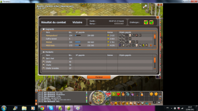 Drop dofus emeraude