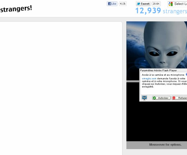 EXTRATRESSTRE SUR OMEGLE !! xD