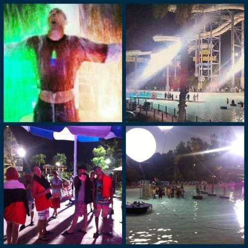 Le clip de Beauty And A Beat a été tourné.