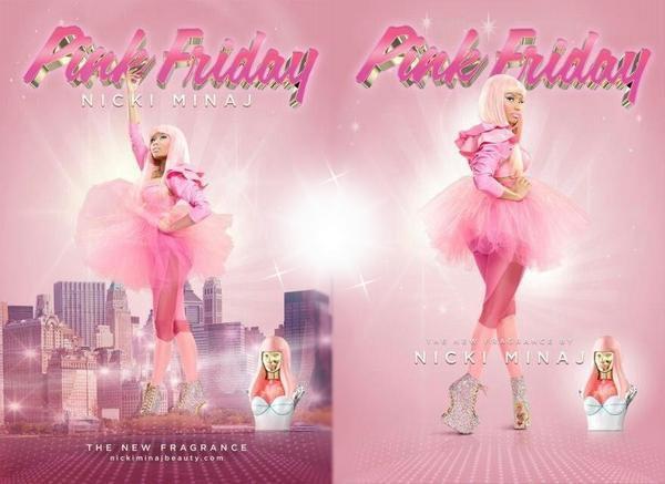 Affiche publicitaire Pink Friday – Parfum