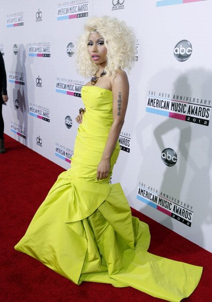 Nicki Minaj a gagné deux Awards aux American Music Awards 2012 !