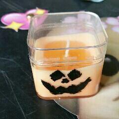 #diy - bougie pour halloween.