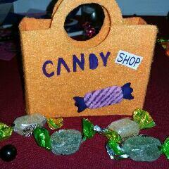 #diy - sac à offrir pour halloween.