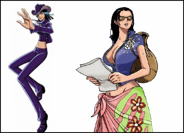 Nico robin the dream land one piece - Robin 2 ans plus tard ...