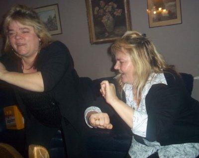 Moi et ma soeur quan on dance