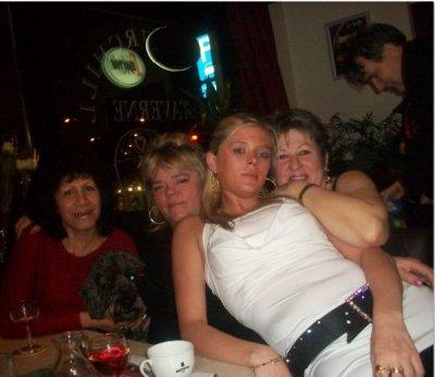 Diana , moi , pamela , et une copine corine