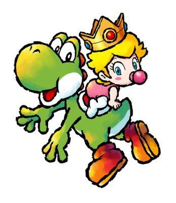Yoshi et Peach