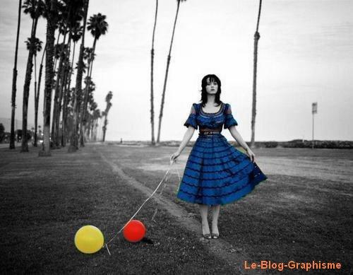 Image En Couleur Sur Noir Blanc Votre Blog Graphisme
