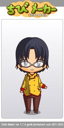Andou Sennosuke en chibi