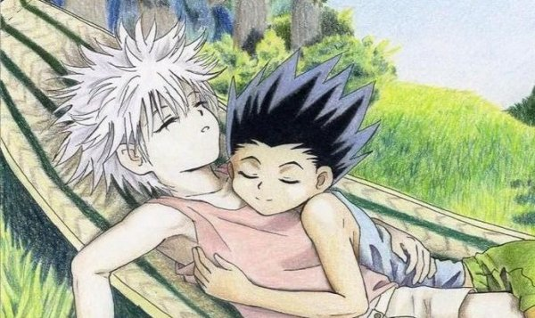 HunterxHunter....OMG Mais Killua e Gon *o*