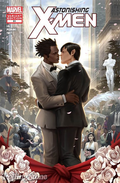 Marvel : Casamento Gay em Astonishing X-Men # 51