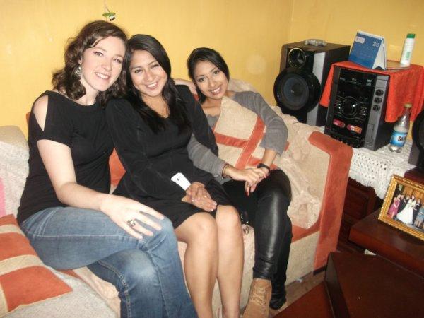 En compagnie de mes belles-soeurs (Maryuri m'a maquillée)