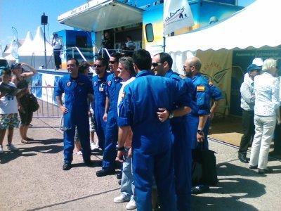 BRAVO:aux pilotes espagnoles.(patrouille de france)
